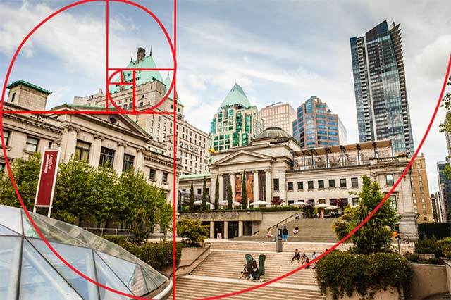 the golden ratio in photogrpaphy