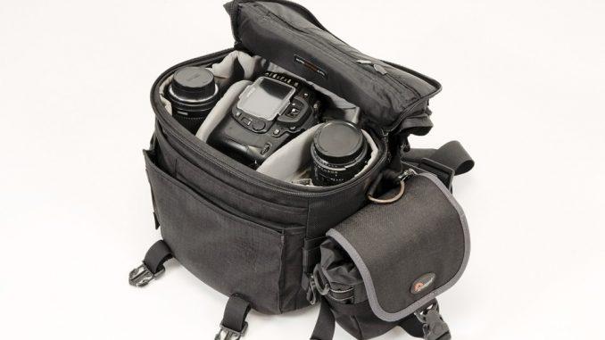 camera bag - photographers equipment list