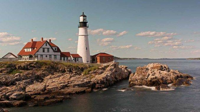 Portland Headlight Maine Light Juergen-Roth