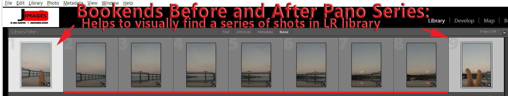 creating a panorama with photoshop and lightroom