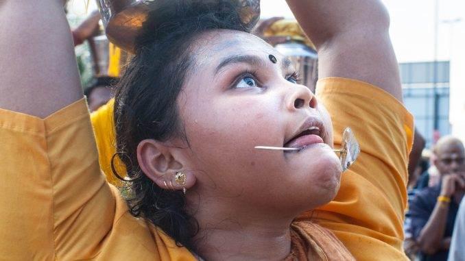 Thaipusam Festival - body mutilation