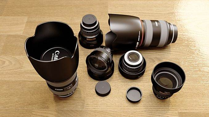 DSLR lenses explained. how they work