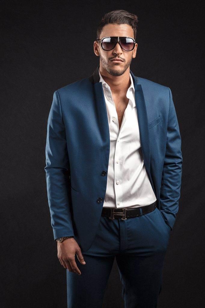Mister France 2016 Sélim Arik.