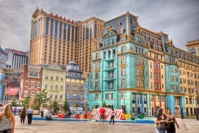 HDR Photography: colorful city buildings using high dynamic range / tonal mapping by Matthew Bamberg.