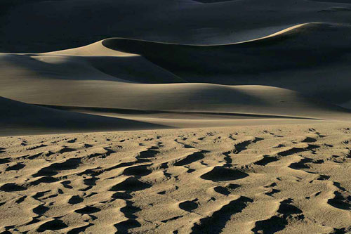 Photo of sand dunes by Andy Long