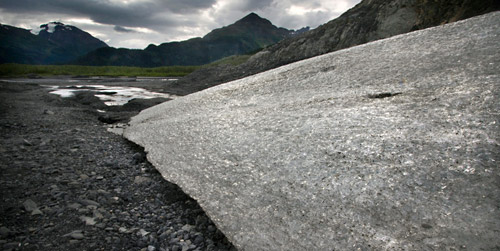 Photo of Exit Glacier in Alaska by Barry Epstein
