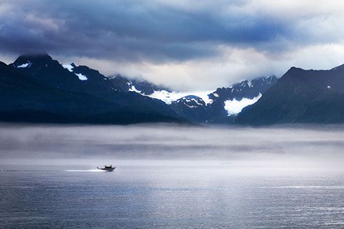 Photo of Resurrection Bay in Seward, Alaska by Barry Epstein