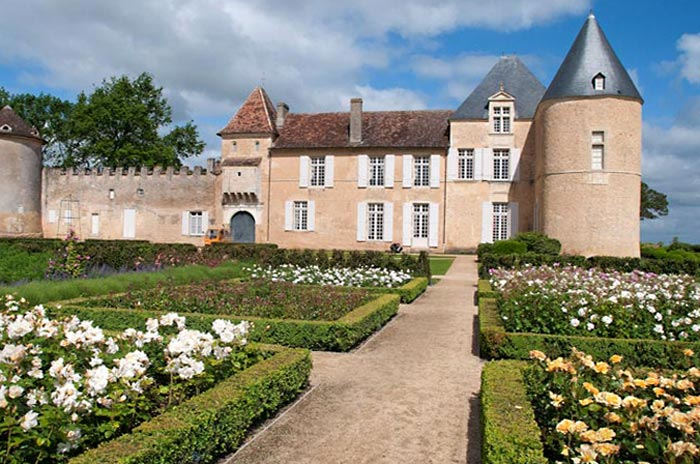Photo of Chateau d'Yquem in southern France by Doris Kolber