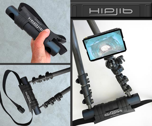 Product Review of hipjib. Close-up images showing the details of the hipjib.