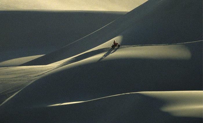 Photo of sand dunes, Mojave Desert, California by Gert Wagner