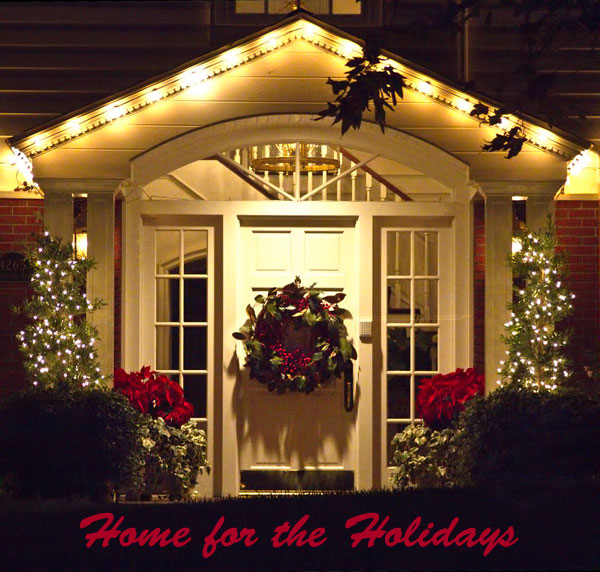 Photo of Christmas Lights on house by Noella Ballenger. Christmas lights photography
