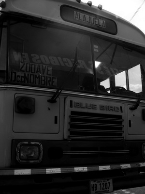 Example of underexposed photo of a bus by MIchael Fulks.