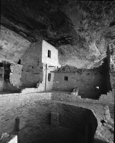Well exposed photo of Mesa Verde, Colorado by Michael Fulks.