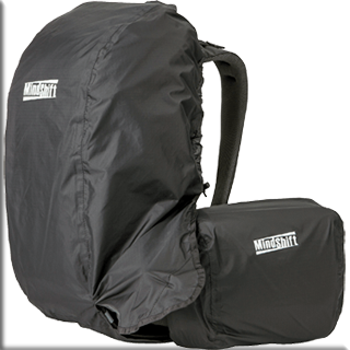 Image of rain covers on the MindShift Gear's rotation180°® Trail™Backpack by MindShift Gear.