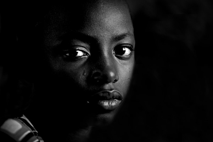 Photo portraid of Haddi Abbul, Ghana, Africa by Marielle van Uitert