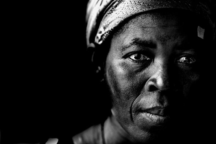 Photo portraid of Azara Adamu, Ghana, Africa by Marielle van Uitert