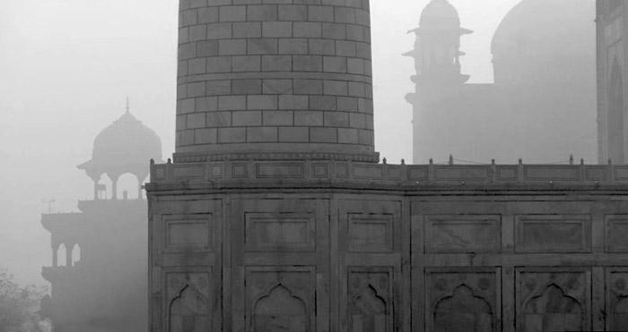 Photo of towers of the Taj Mahal by Rick Clark