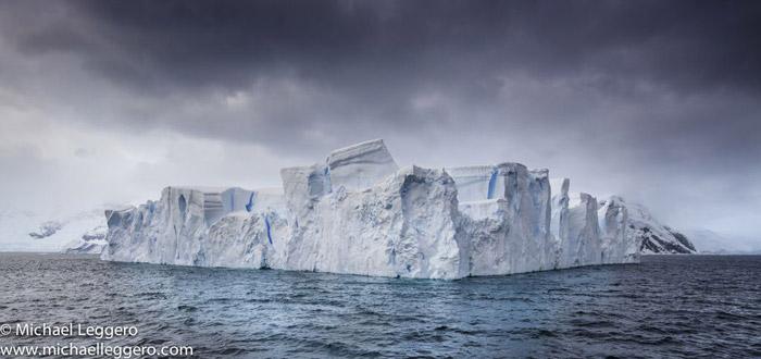 Photoshop manipulated photo: Antarctica iceberg by Michael Leggero