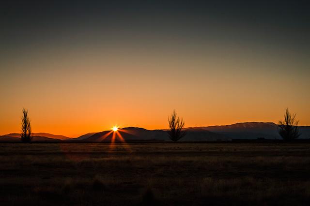 Backlighting Photography - sunrise