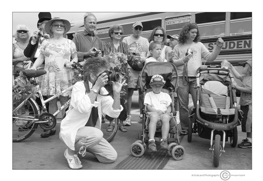"Photo of ""Fleet Blessing Crowd"", McMillan Wharf, Provincetown, Massachusetts by Jim Austin"