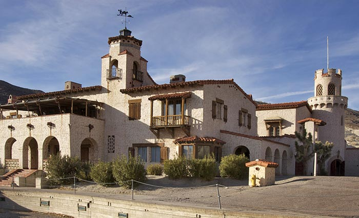 Photo of Scotty's Castle on way to Racetrack by Bob Hitchman