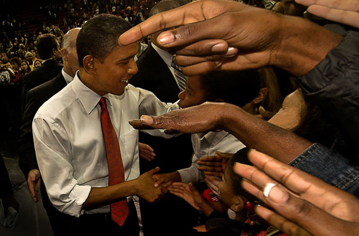 Photo of President Barack Obama by Michelle Wong
