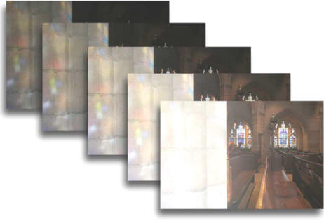 Example of multiple frames by Jim Austin.