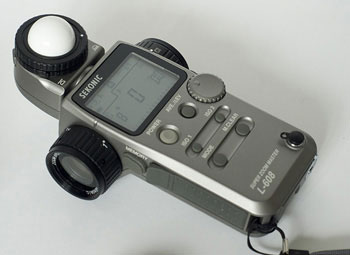 Photo of Sekonic L-608 Light Meter by Edwin Brosens
