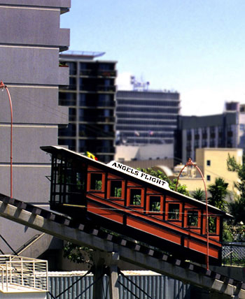 Photo of Angels Flight, Los Angeles, California by Noella Ballenger