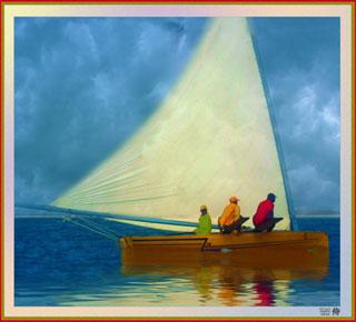 Artistic Photo of The Gulf Stream