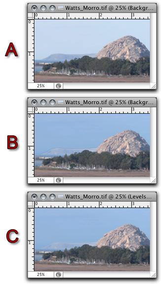Screen shot of Photoshop's Refine Edge tool examples by John Watts