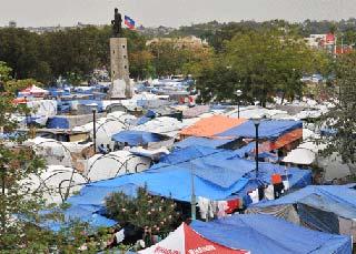 Photo of Petion tent and tarp camp, Port-au-Prince, Haiti