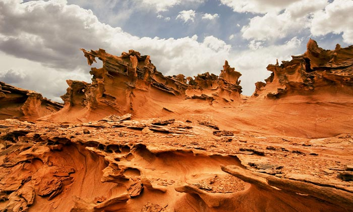 Photo of rock formations at Little Finland Nevada desert by Bob Hitchman