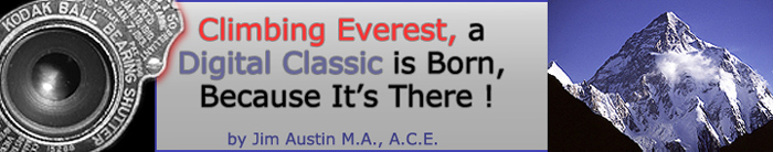 Kodak_ONE-Title Climbing Everest, a Digital Classic is Born, Because It's There!