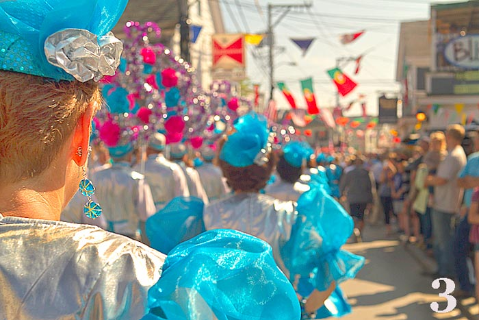 Photos of people in a parade by Jim Austin