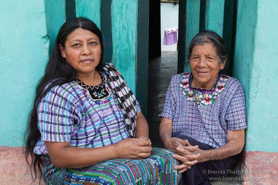 Mother and daughter, Santiago de Atitlán.