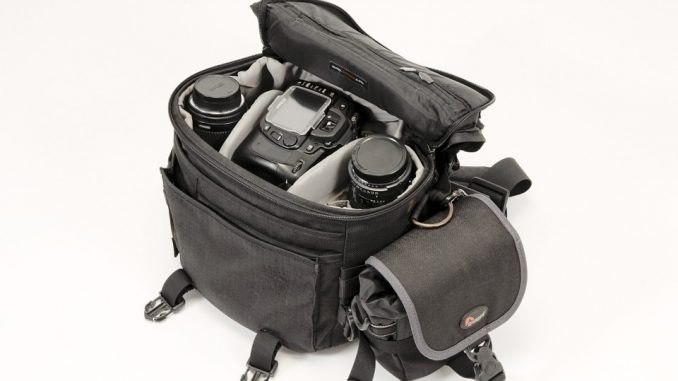 camera bag - photographers equipment list