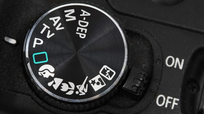 shutter-speed explained -  camera dial settings