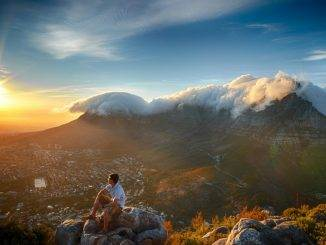 Sunrise Over Table Mountain