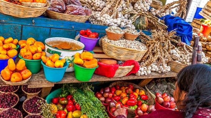 The main produce market in San Cristóbal, Chiapas