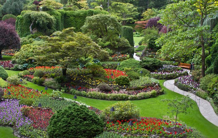 Photo of Butchard Gardens in Canada by Noella Ballenger