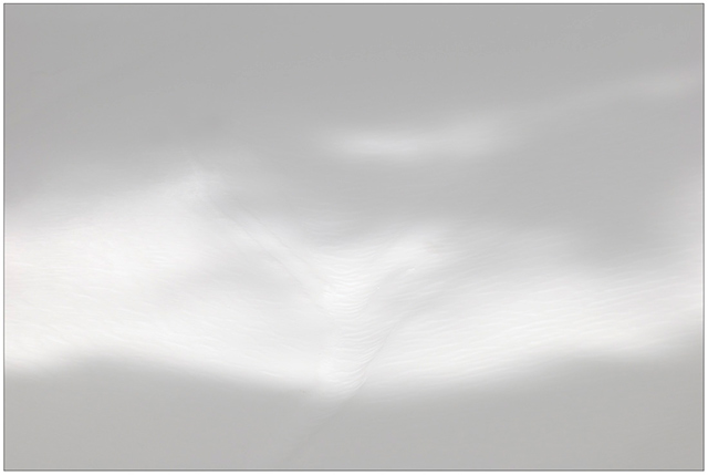 Photographing the Immaterial: gray scale image entitled Transition II by Piero Leonardi.
