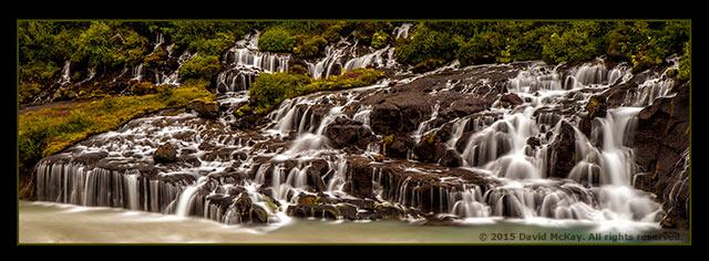 Image of Barnafosser Falls by David McKay.