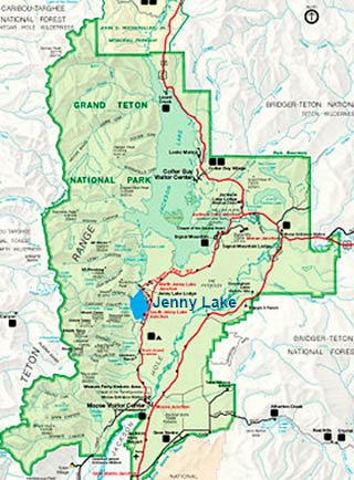 Photo Hikes in the Grand Tetons: Jenny Lake Trail Network | Apogee ...
