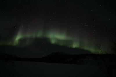 Aurora Borealis photo by Andy Long