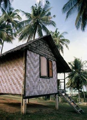 Photo of beach hut in Ko Phangan, Thailaind by Ron Veto