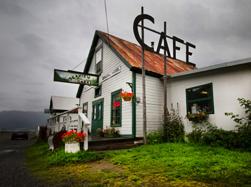 Photo of Café Hope in Hope, Alaska by Barry Epstein