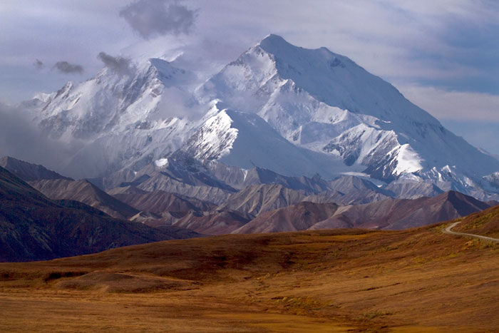 Autumn photo of Mount McKinley by Barry Epstein