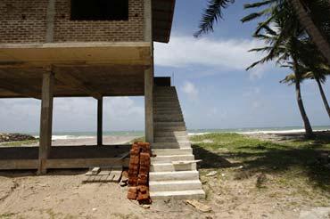 Photo of new home onr shores of Sri Lanka by Marielle van Uitert