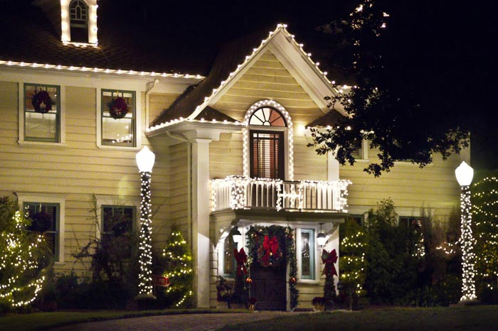 Photo of home decorated for Christmas by Noella Ballenger